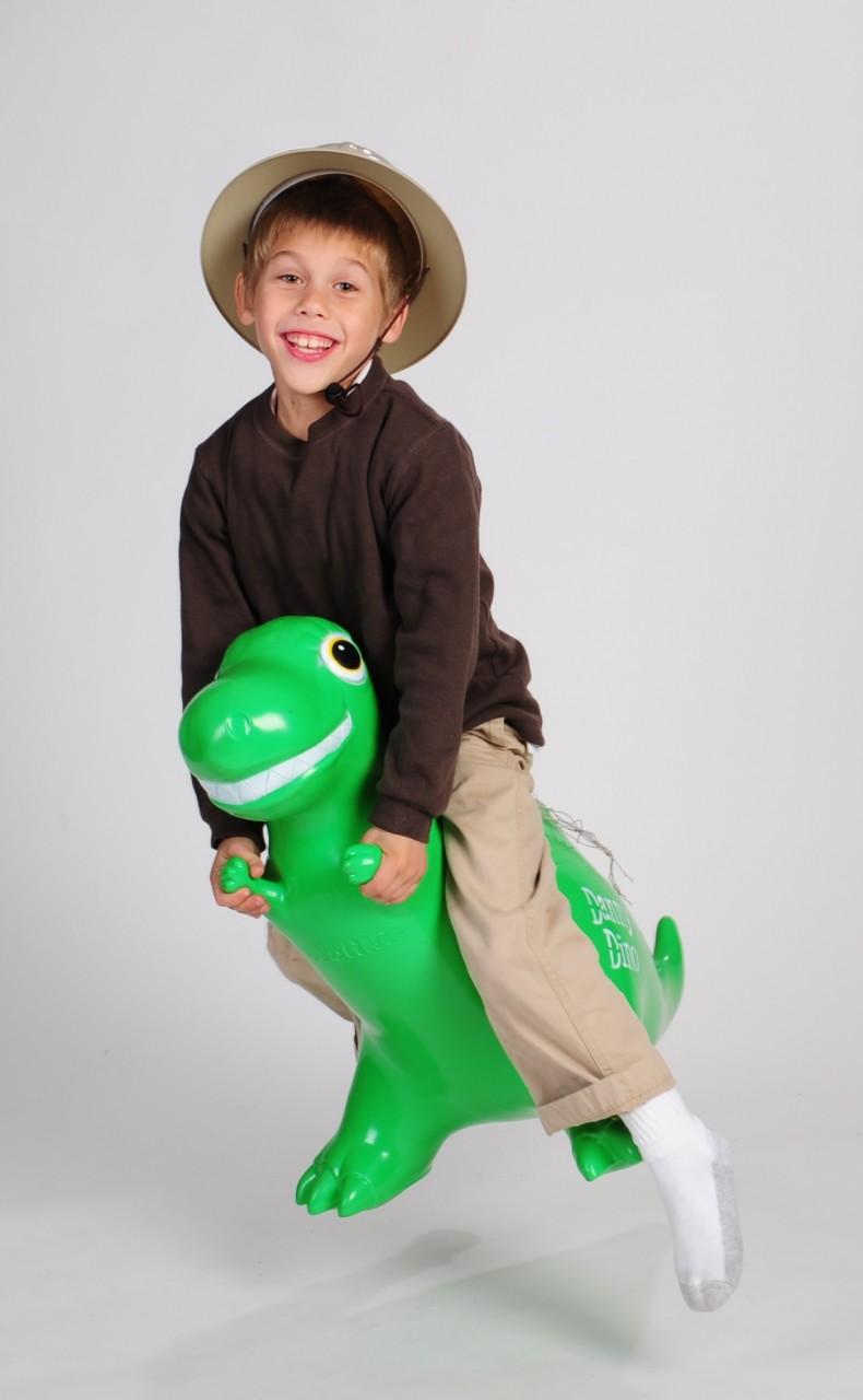 Danny the Jumping T-Rex Dinosaur